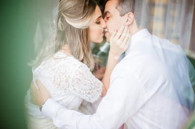 Dyane & Eduardo: mini wedding vintage SUPER romântico em Joinville