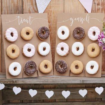 Panel de Donuts para el Candy Bar- Compra en The Wedding Shop