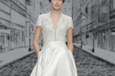 Vestidos de novia Justin Alexander 2017: Perfectos para una novia clásica y con estilo