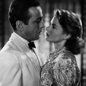 Ingrid Bergman em Casablanca, 1942