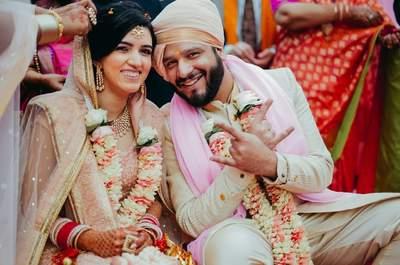 Stunning wedding of lovely couple Pallavi and Ayush