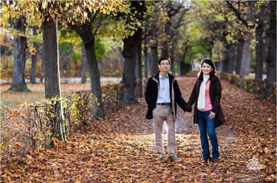Wiener Romantik: Das exotische Verlobungsshooting von Amy und Michael aus Singapur