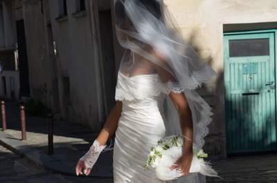 Pour une robe de mariée de princesse, faites confiance à Agnès Szabelewski