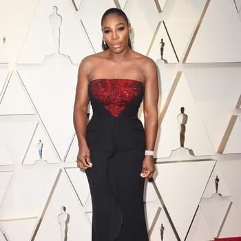 Serena Williams de Armani / Cordon Press