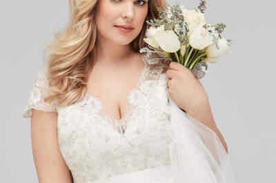 Vestidos de novia plus size: ¡las mejores tendencias para tu gran día!