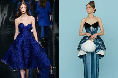 Os mais sofisticados vestidos para convidadas e madrinhas na cor azul para 2015