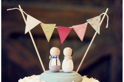 Os bonecos para bolo de noiva mais originais de 2013