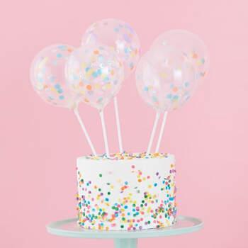 Figura tarta nupcial globos de pastel- Compra en The Wedding Shop