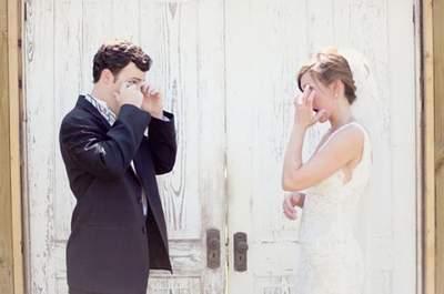 First look: el momento más mágico de la boda