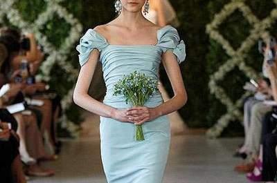 Vestidos de noiva coloridos: uma tendência para 2013
