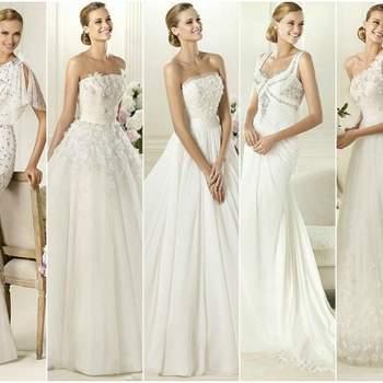 Vestidos de noiva Pronovias 2013: luxo e requinte.