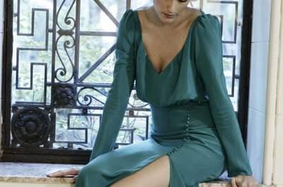 Extraordinários vestidos de festa verdes 2017 para convidadas e madrinhas. Confira!