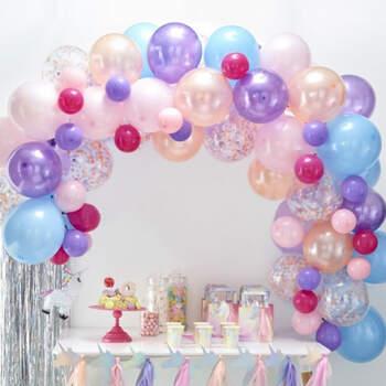 Arco de globos pastel 70 unidades - Compra en The Wedding Shop