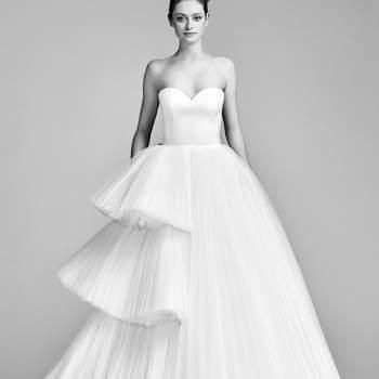 Finden Sie ein Brautkleid mit Herzausschnitt – Verspielter Style am Hochzeitstag