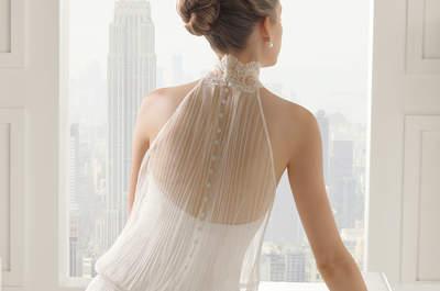 Свадебное платье с американской проймой. Что может быть элегантнее?!