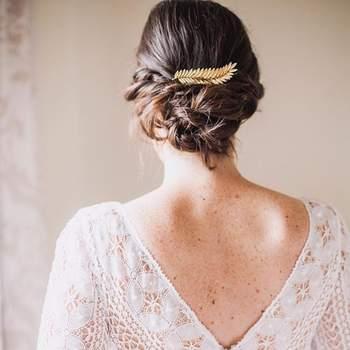 Penteado para noiva com cabelo preso | Foto: Urvan