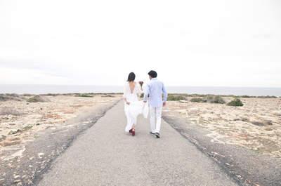 Una boda en Formentera: el