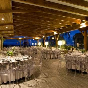 Esta finca dispone de tres edificios singulares en Hoyo del Manzanares (Madrid) que  te permiten crear diferentes ambientes para los momentos clave de tu boda.