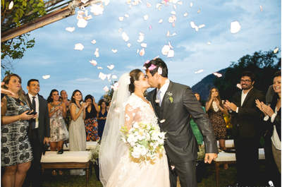Casamento surpresa de  Marina & Marcio: um