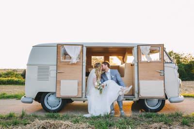 Denise & Daniel heirateten im Ludwigsburger Werkcafé – Industrial Design trifft auf zarten Hippie Style!
