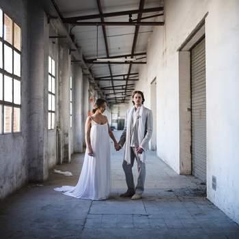 Une inspiration Minimalist Organic Industrial pour un elopement