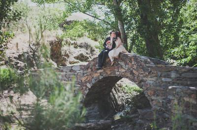 Y sonreír para siempre a tu lado: la boda de Irene y Paco