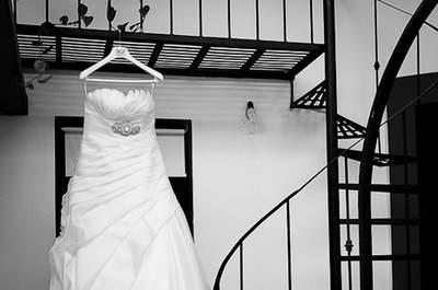 Increíbles ideas en blanco y negro para la sesión de fotos de tu boda