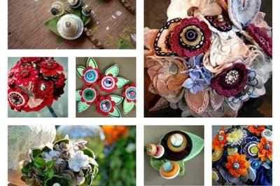 Il bouquet handmade, la nuova tendenza che piace alle spose
