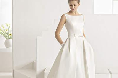 Entdecken Sie diese 35 Brautkleider mit Taschen 2017! Ein originelles Brautstyling mit dem gewissen Etwas
