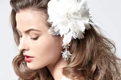 Die top 5 Brautfrisuren mit Haarschmuck 2013