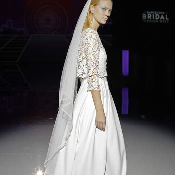Marylise, Rembo Styling. Credits: Barcelona Bridal Fashion Week