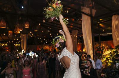Casamento rústico chic de Patricia & Luiz Fernando: Búzios foi o cenário e Bali a inspiração