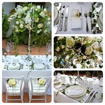 """<a href=""""http://www.caprichia.com/"""" target=""""_blank"""">Caprichia</a> Un couvert ultra raffiné, une décoration élégante, qu'espérer de plus ?"""