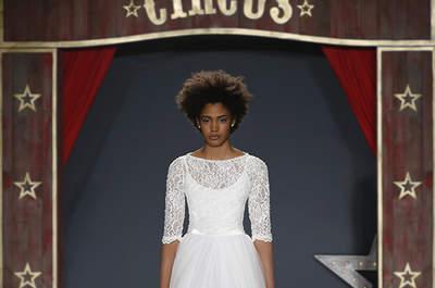 Elegantes y sofisticados vestidos de novia cuello barco