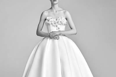 Vestidos de novia corte princesa para mujeres dulces, románticas y elegantes