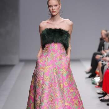 Isabel Sanchís | Credits: Valmont Barcelona Bridal Fashion Week