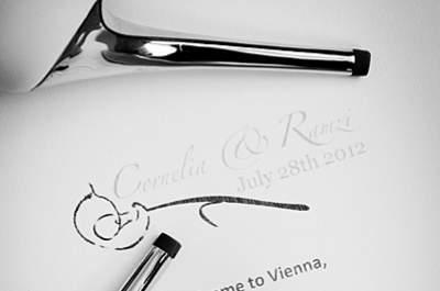 Real wedding en Autriche: le conte de fée de Ramzy & Cornelia