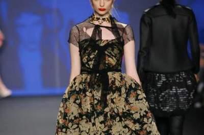 Vestido de noiva girly-punk? Inspire-se nas criações de Anna Sui