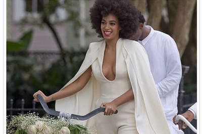 El matrimonio con estilo de la hermana de Beyónce: Solange Knowles rompe todos los moldes
