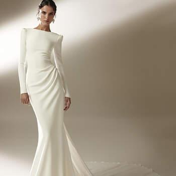 Créditos: Pronovias Cruise 2021 | Modelo do vestido: Katheryn