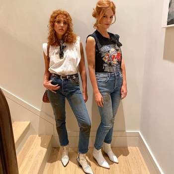 Jessica Alba e Kelly Sawyer (Telma & Louise). IG @jessicaalba