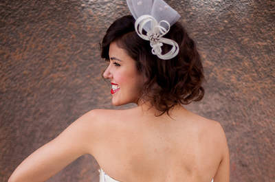 Peinados de novias 2015: Deslumbrantes estilos y accesorios.