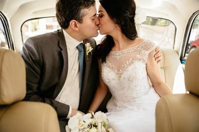 Mini wedding vintage de Jéssica & Guillermo: decoração deslumbrante com detalhes super originais!