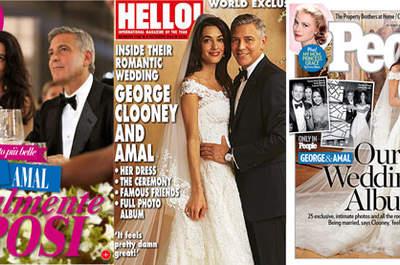 George&Amal: nozze da 10 milioni di euro