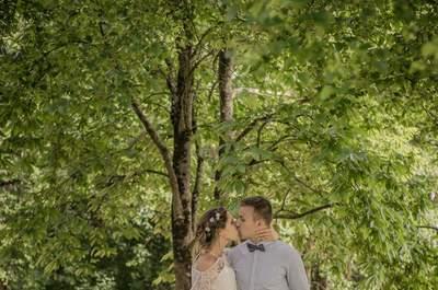 Inspiration pour un mariage enchanté : puisez des idées dans ce shooting magique !