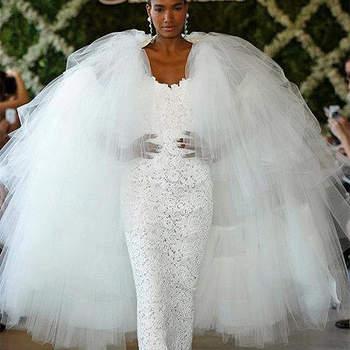 Ajustée, féminine et glamour : au top pour une mariée ! Photo : Oscar de la Renta
