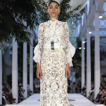 Roberto Diz. Credits_ Barcelona Bridal Fashion Week