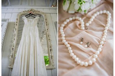Real wedding style shabby chic avec détails élégants