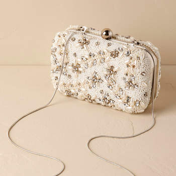 Doris Beaded Clutch. Credits: Bhdln