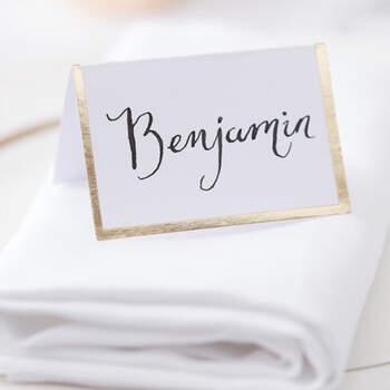 Marcasitio caballero dorado 10 unidades- Compra en The Wedding Shop